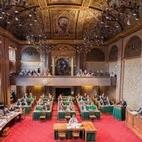 Eerste Kamer zaal rechtenvrije foto
