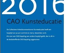 CAO Kunsteducatie 2016